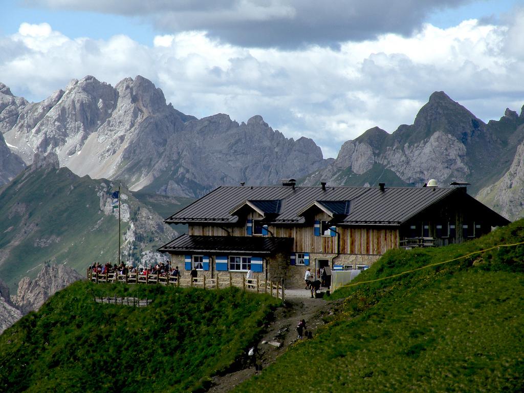 rifugio di montagna