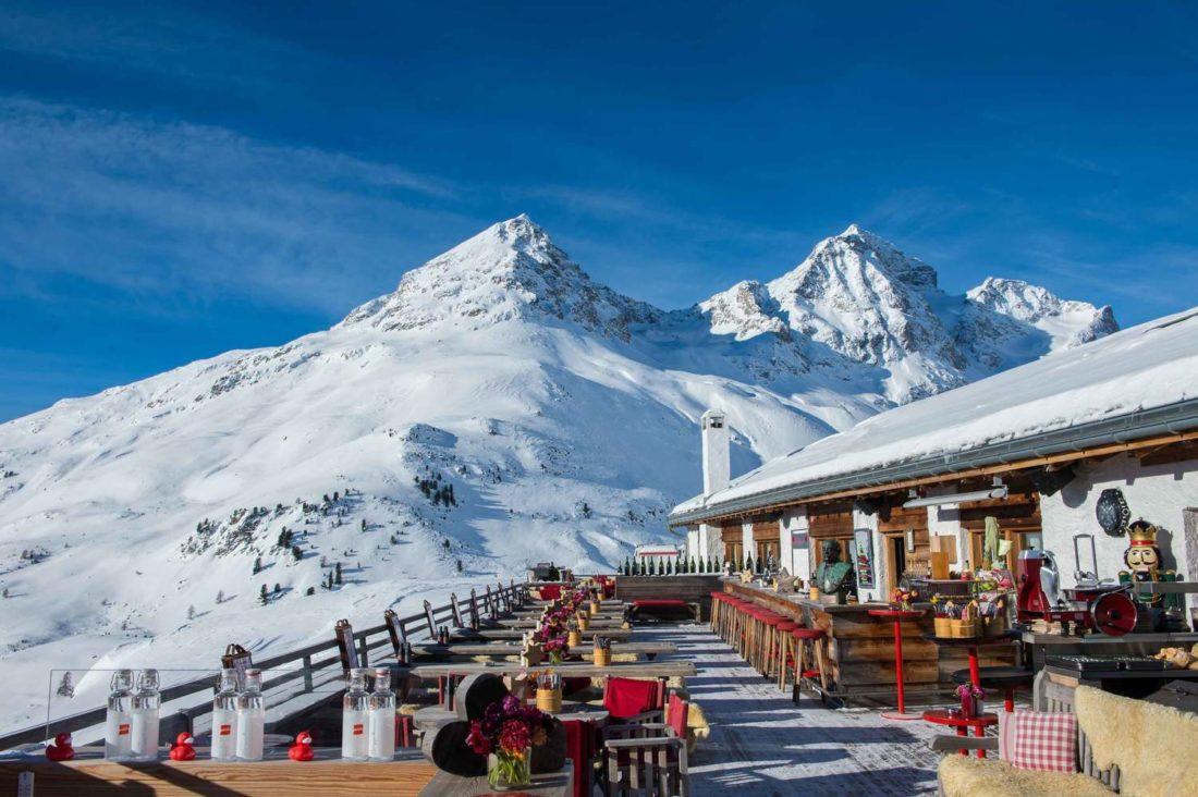 ristorante di montagna